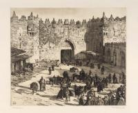 Das Damaskustor in Jerusalem
