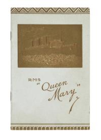 "Passagierliste der RMS ""Queen Mary"""