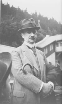 Fritz Rathenau ( 1875-1949) in Oberhof