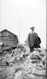 Fritz Rathenau ( 1875-1949) in den Alpen