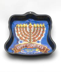 "Backform: ""Chanukah Lights Cake Pan"""