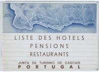 Prospekt: Hotels, Pensionen und Restaurants Costa Do Sol