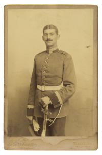 Max Hirschberg (1864-1942) in Uniform