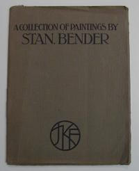"Mappeneinband zu: ""A collection of paintings by Stan. Bender"""