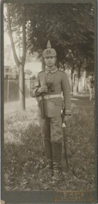 Ernst Levy (1894-1982) in Uniform
