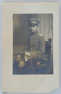 Alfred Kunz (1891-1971) in Uniform