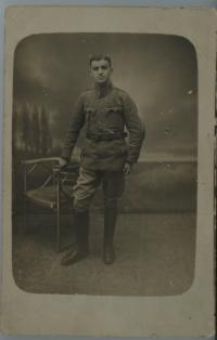 Israel Weinberger (1896-?) in Uniform