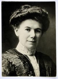 Reproduktion: Porträt Fanny David (1877-1953)