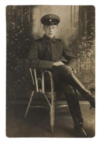 Wilhelm Bornstein (1897-1942) in Uniform