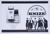 "Beipackzettel für ""The Knize Toiletries"""