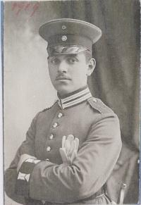 Richard Bettauer (1888-?) in Uniform