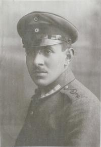 Alfred Bettauer (1889-1974) in Uniform